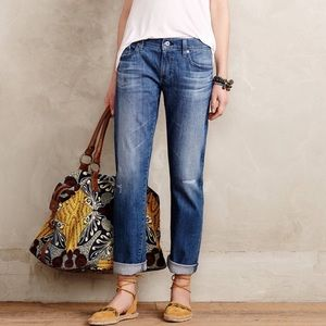Anthropologie AG Nolan Mid Rise Ankle Jeans 27